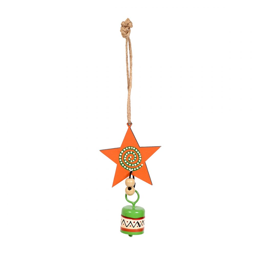 Aakriti Art Creations Wooden & Metal Wind Chimes for Home & Decorations