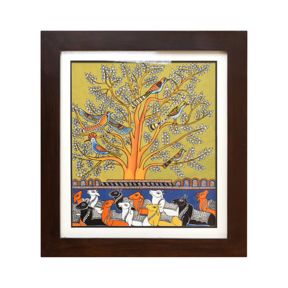 Handpainted Fusions - Pattachitra Art Painting