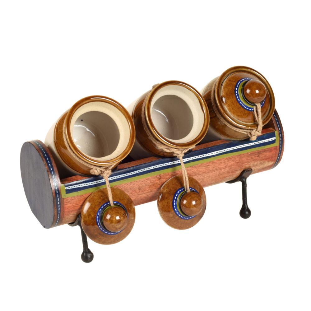 Chatore Barni Set with Stylish Tubular Stand