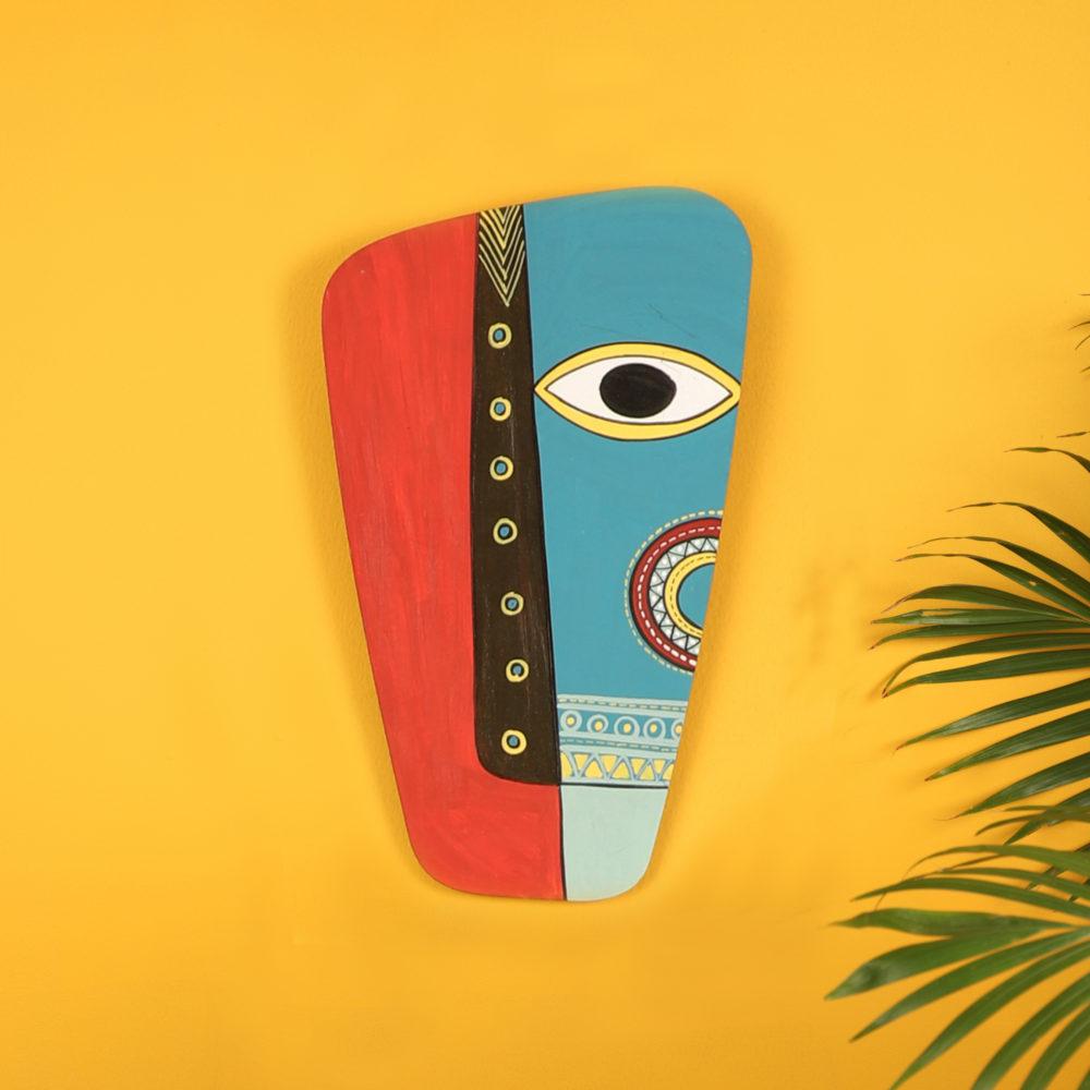Tribal Belle Santudi Wall Decor Mask (6x10)
