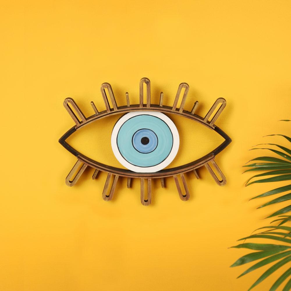 Celestial Evil Eye Wall Decor Mask (10x7.5)