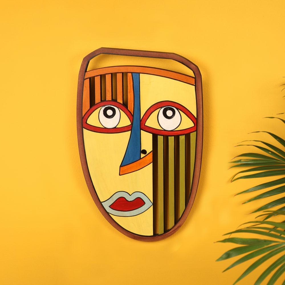 Candid Sunny Wall Decor Mask (7x11)