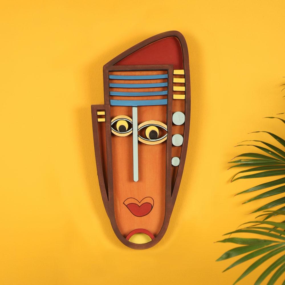 Googly Eyes Wall Decor Mask (6x13)