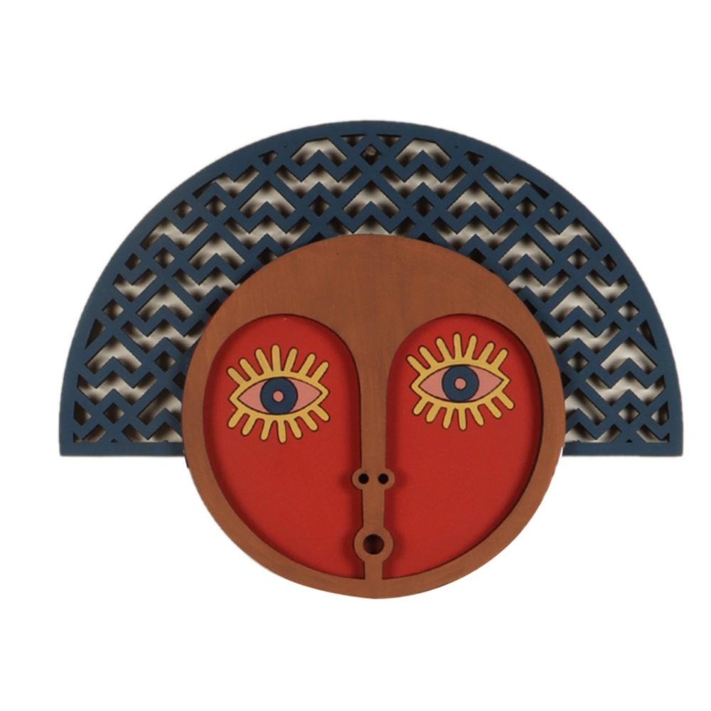 Mrs. Tiffany Doubtfire Wall Decor Mask (14x11)