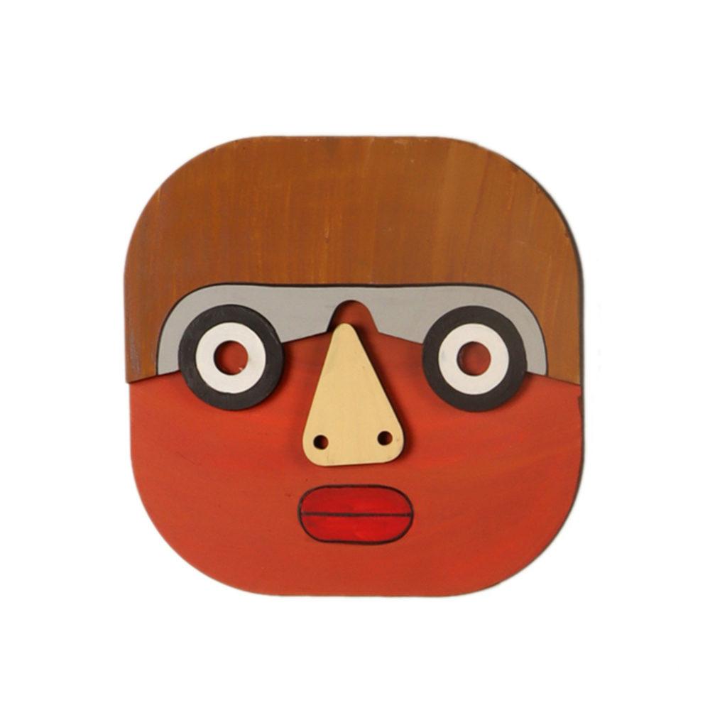 Specky Simon Wall Decor Mask (7x7)