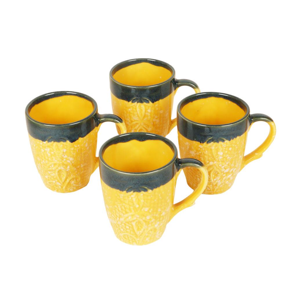 Bumblebee Tea Cups Set of 4