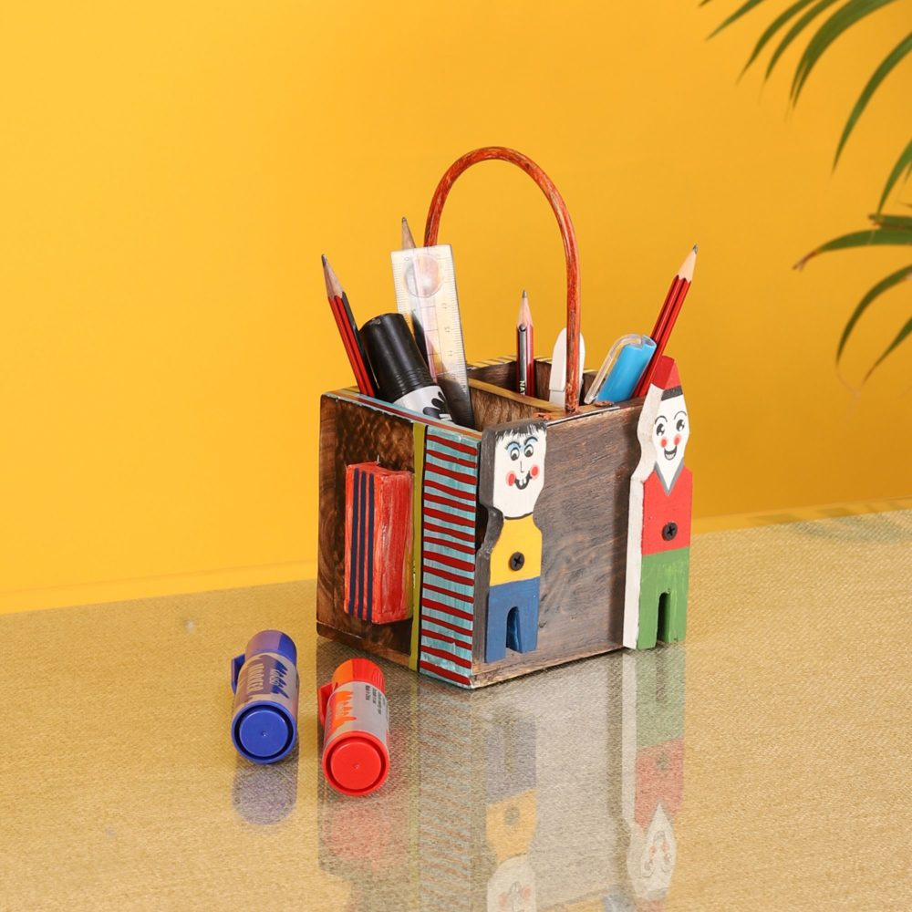 Pogo Table Top Stationery Holder -5.2x4.2x8