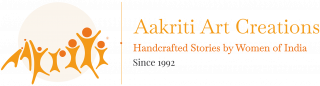 Aakriti Art Creations - Horizontal Logo - Optimised